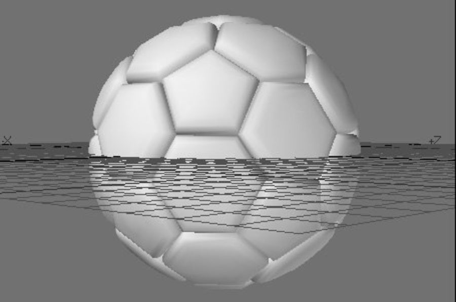 Sports Ball royalty-free 3d model - Preview no. 4