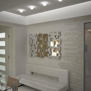 miroir décor Carre 3d model