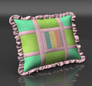 Pillow mint 3d model