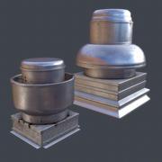 Évents de toit 3d model
