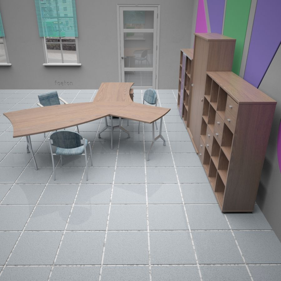 Office 65 royalty-free 3d model - Preview no. 9