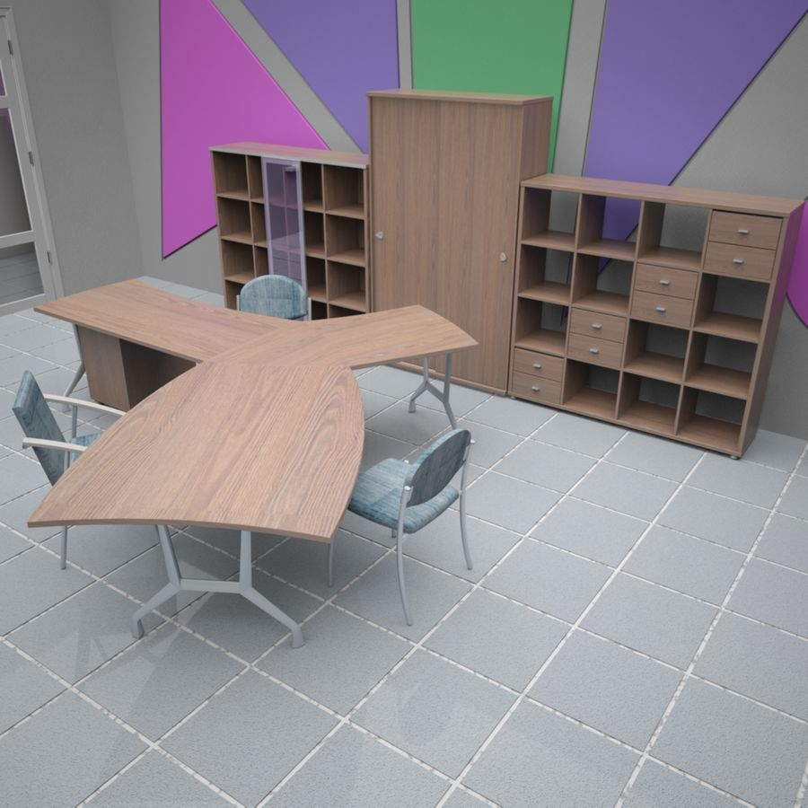 Office 65 royalty-free 3d model - Preview no. 8