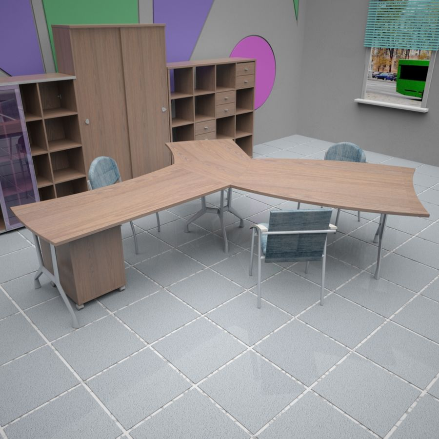 Office 65 royalty-free 3d model - Preview no. 5