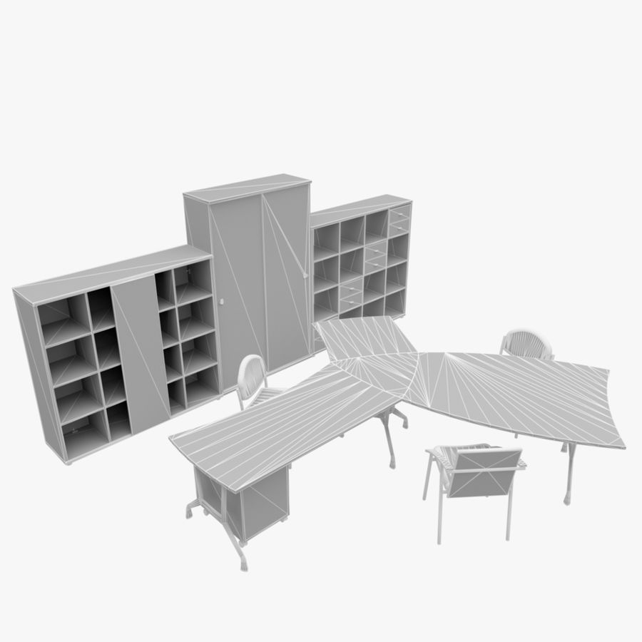 Office 65 royalty-free 3d model - Preview no. 4