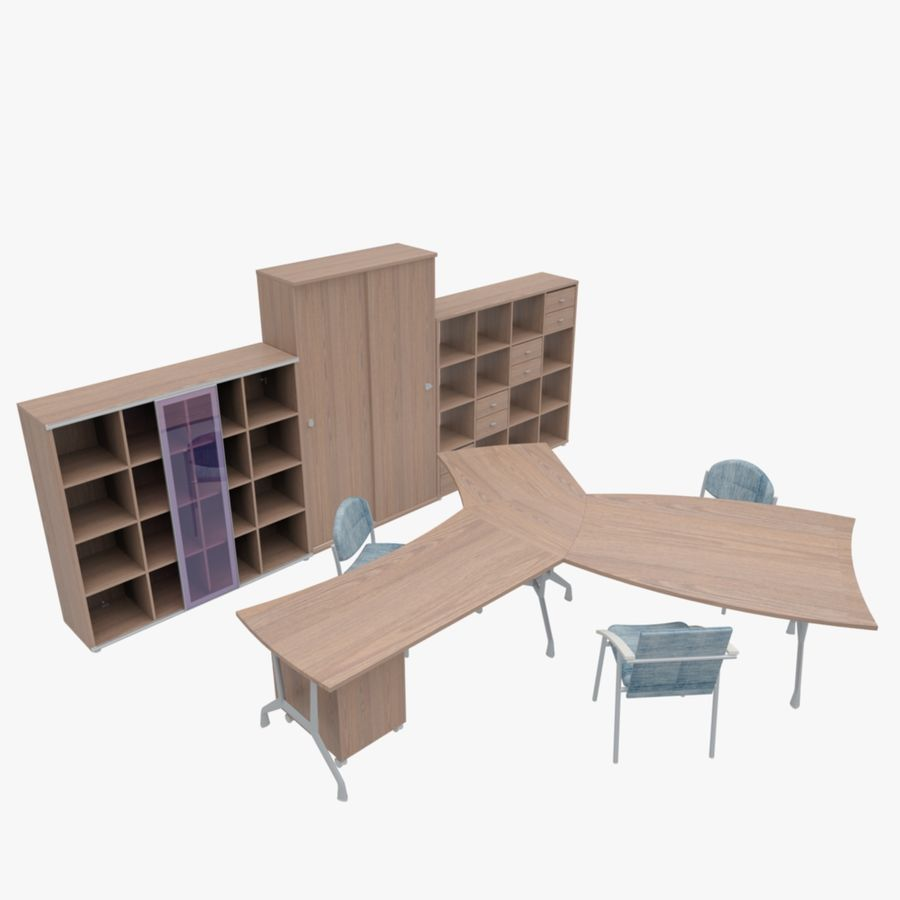Office 65 royalty-free 3d model - Preview no. 1