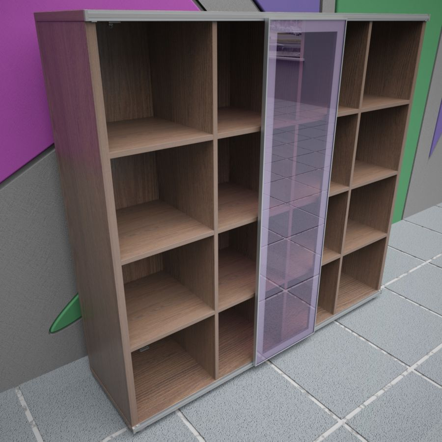 Office 65 royalty-free 3d model - Preview no. 13