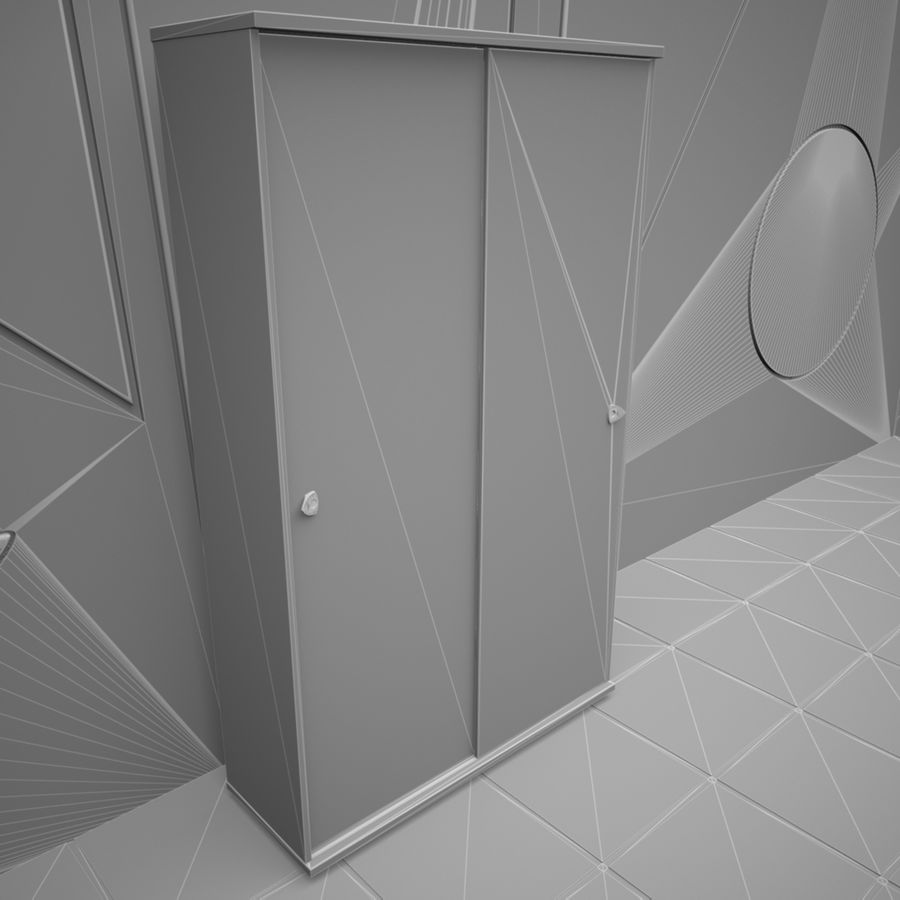 Office 65 royalty-free 3d model - Preview no. 12