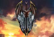 dragon shield 3d model