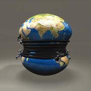 全球各地的水龙头 3d model