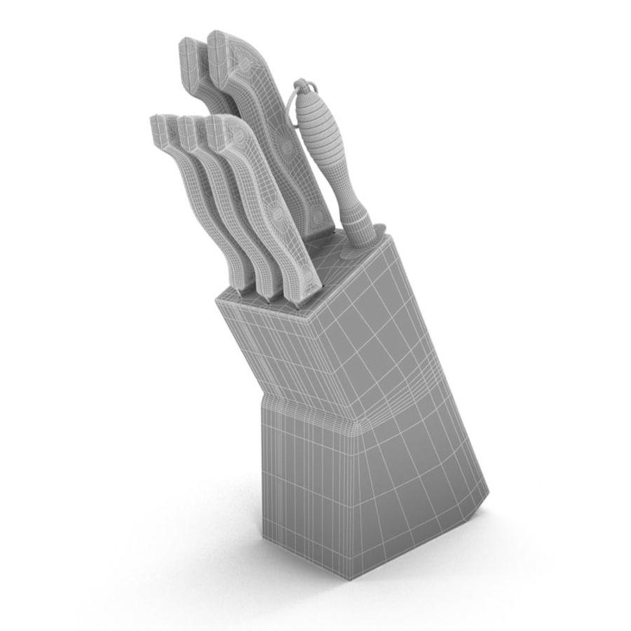 noże royalty-free 3d model - Preview no. 2
