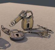 Key Lock pack 3d model