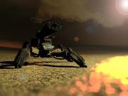 Spider Quad Mech 3d model