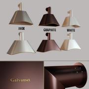厨房油烟机Galvamet Charme 90/120 3d model