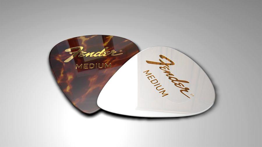 Guitar Picks royalty-free 3d model - Preview no. 1