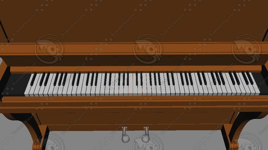 ピアノ royalty-free 3d model - Preview no. 10