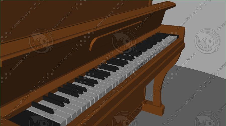 ピアノ royalty-free 3d model - Preview no. 8