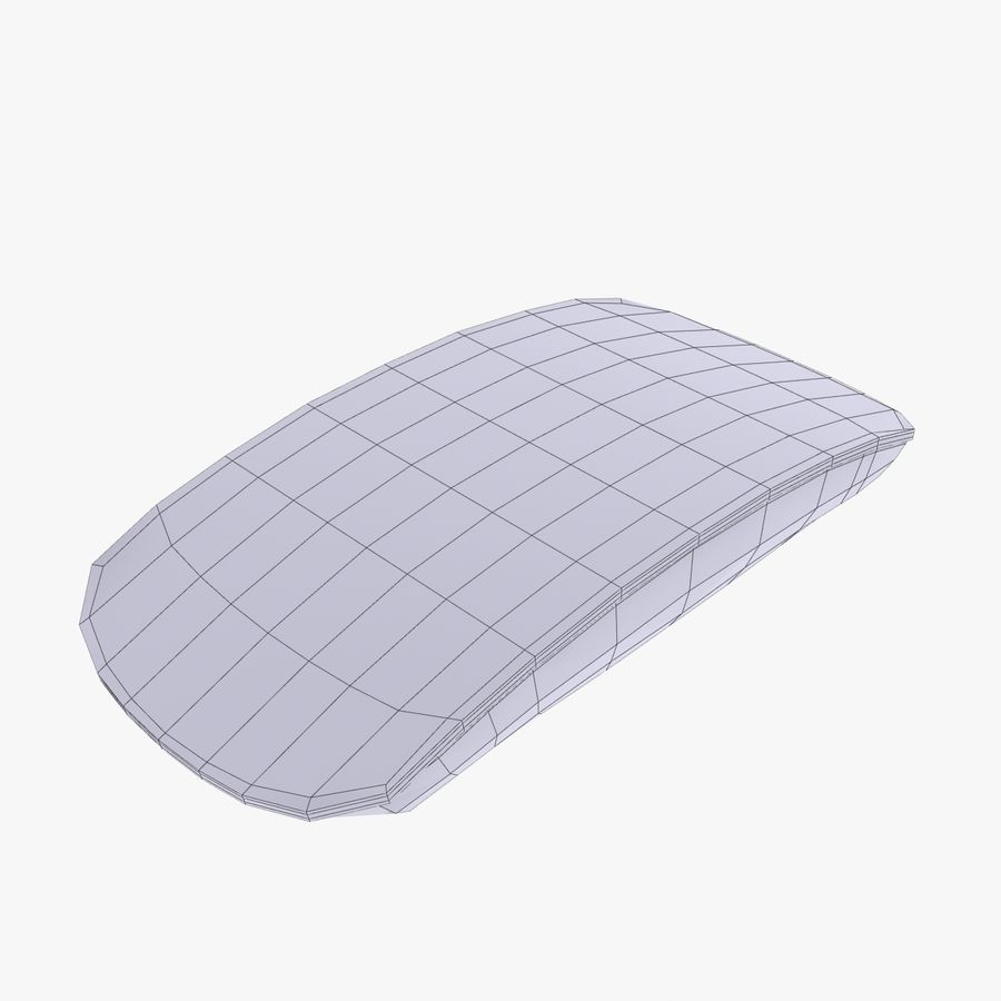 Mac Keyboard Mouse royalty-free 3d model - Preview no. 18