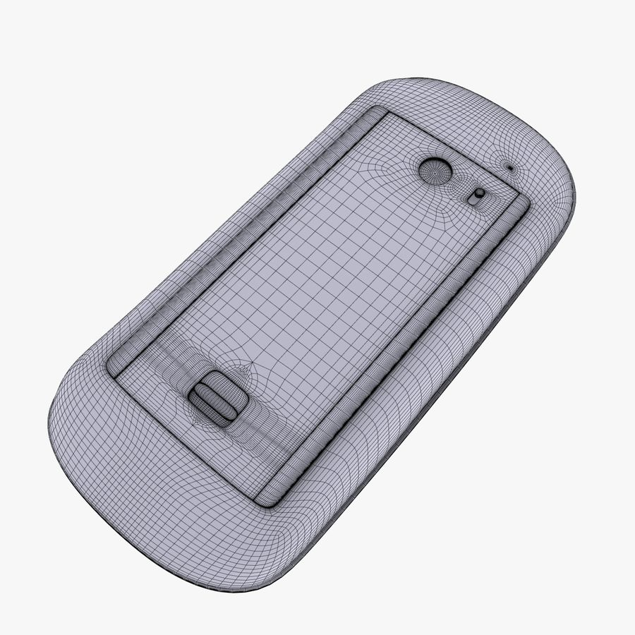 Mac Keyboard Mouse royalty-free 3d model - Preview no. 21