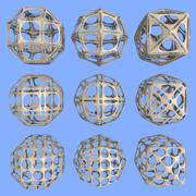 Geometrische Form MHT-08 3d model