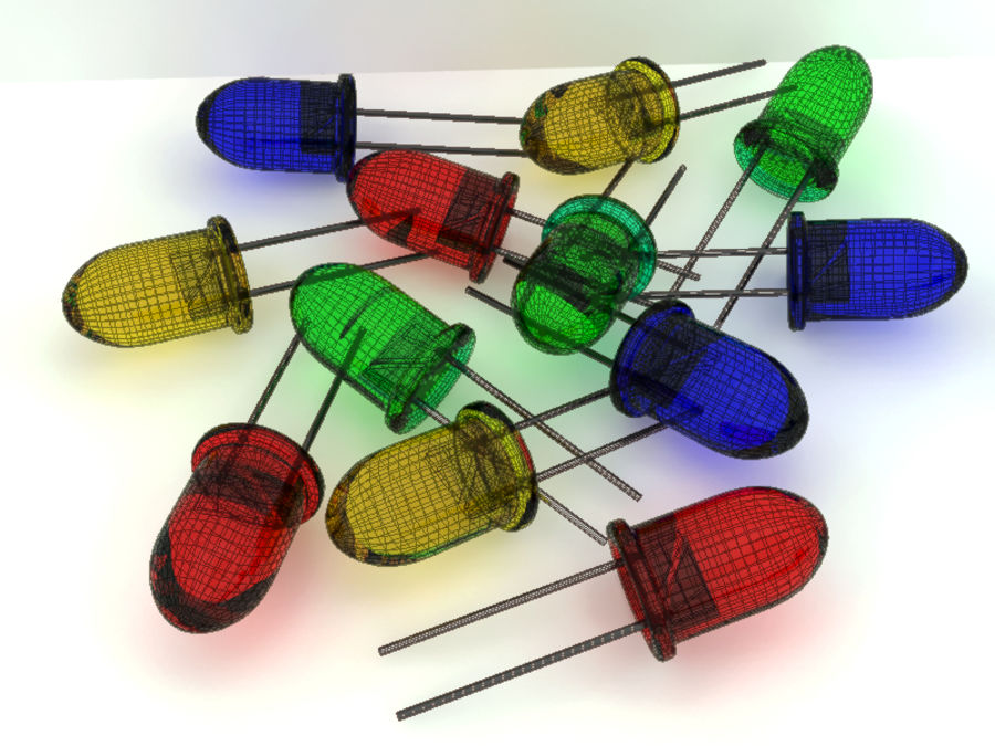 Electronic Component royalty-free 3d model - Preview no. 8