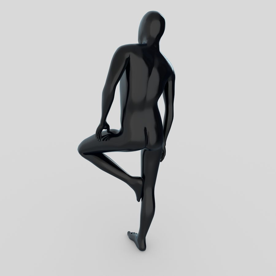 Mannequin Homme 4 royalty-free 3d model - Preview no. 3