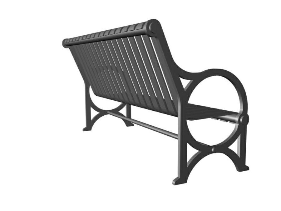 Транзит купить скамейку royalty-free 3d model - Preview no. 4