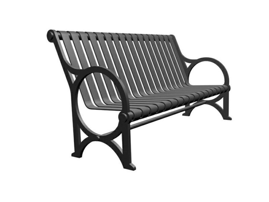 Транзит купить скамейку royalty-free 3d model - Preview no. 1