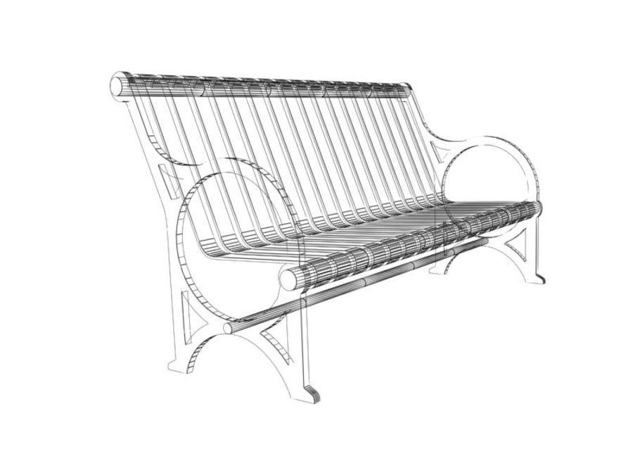Транзит купить скамейку royalty-free 3d model - Preview no. 5