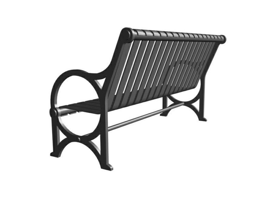 Транзит купить скамейку royalty-free 3d model - Preview no. 3