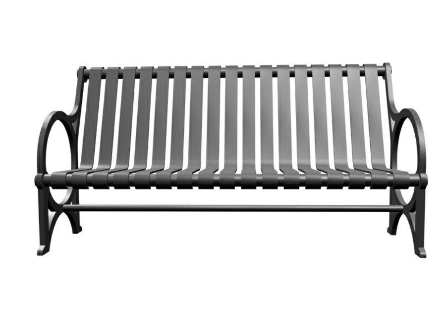 Транзит купить скамейку royalty-free 3d model - Preview no. 2