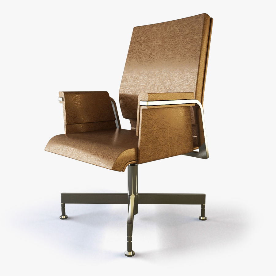 Office Task Chair - Festgelegt royalty-free 3d model - Preview no. 1