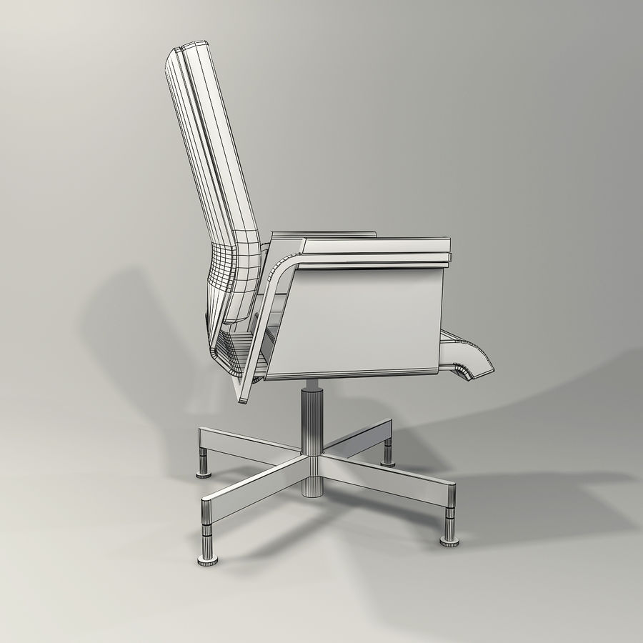 Office Task Chair - Festgelegt royalty-free 3d model - Preview no. 13