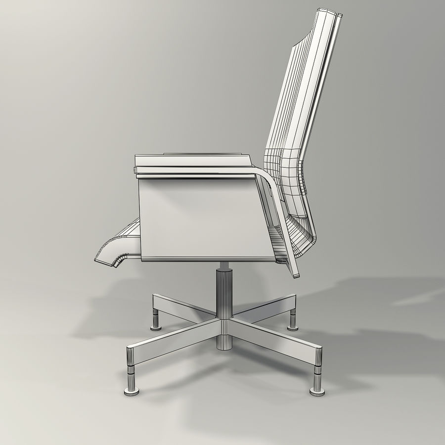 Office Task Chair - Festgelegt royalty-free 3d model - Preview no. 11