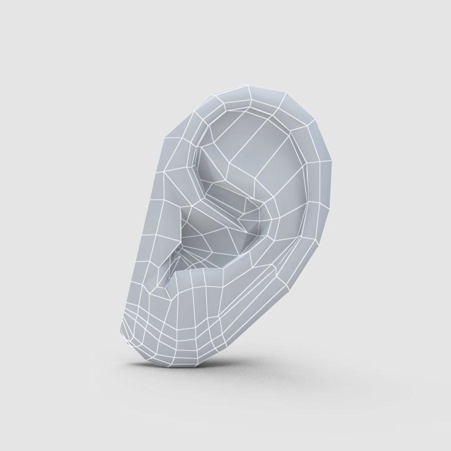 耳 royalty-free 3d model - Preview no. 7