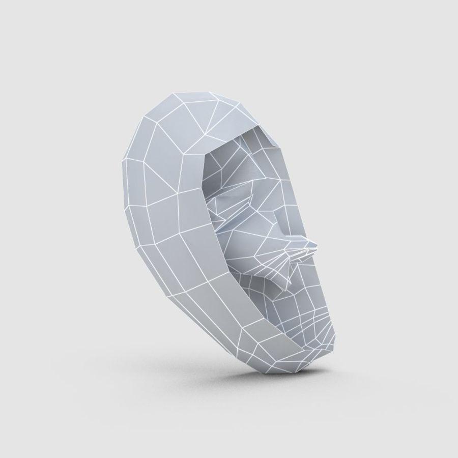 耳 royalty-free 3d model - Preview no. 8