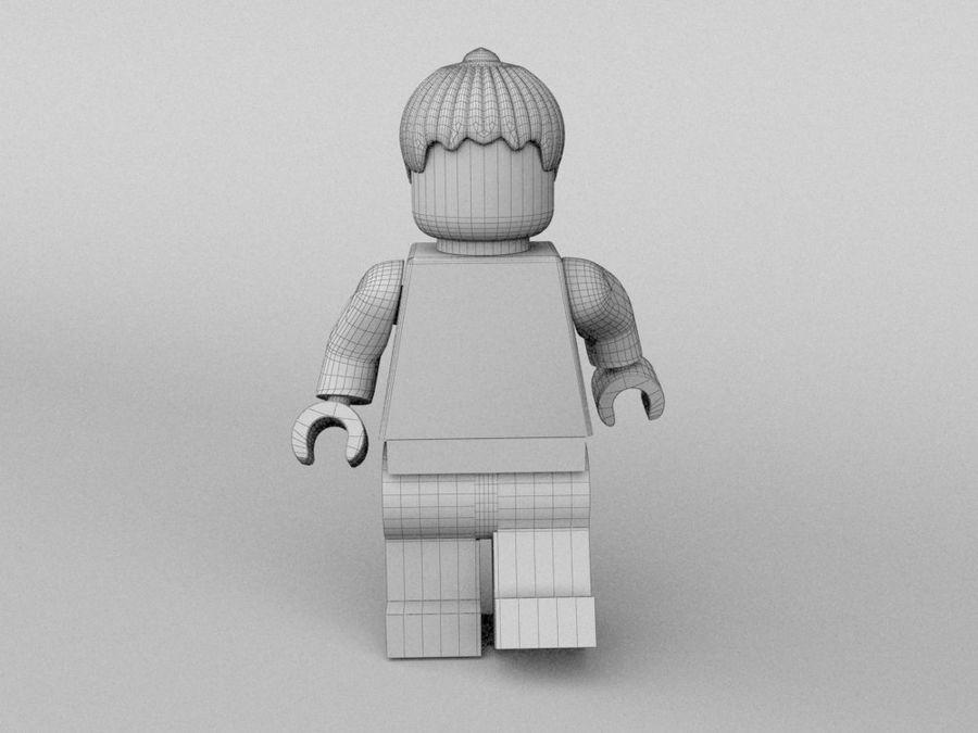 Restauracyjne postacie Lego royalty-free 3d model - Preview no. 24