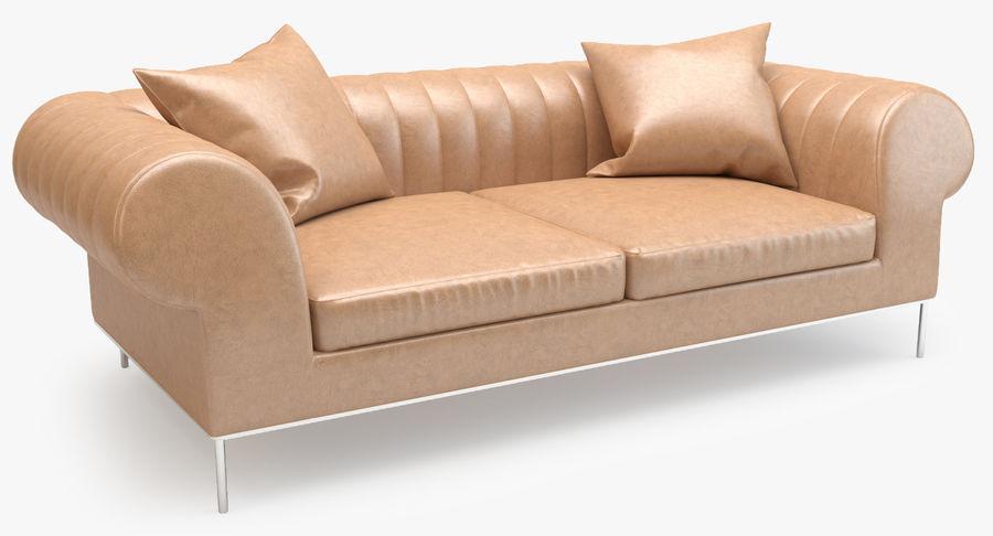 Busnelli Deja vu bank royalty-free 3d model - Preview no. 2