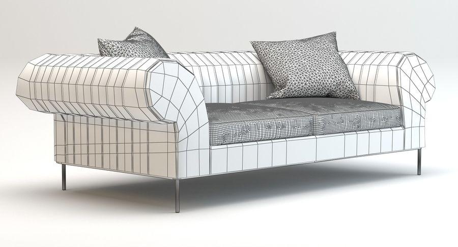 Busnelli Deja vu bank royalty-free 3d model - Preview no. 10