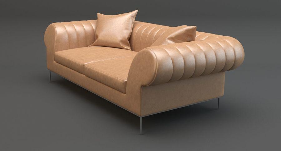 Busnelli Deja vu bank royalty-free 3d model - Preview no. 5
