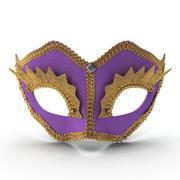 Mardi Gras Mask 3 3d model