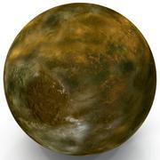 Alien Planet 3d model