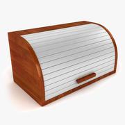 Brot-Box 3d model