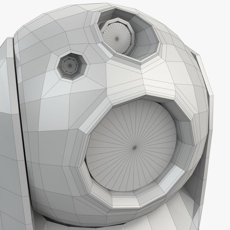 Caméra de surveillance 360 degrés royalty-free 3d model - Preview no. 16
