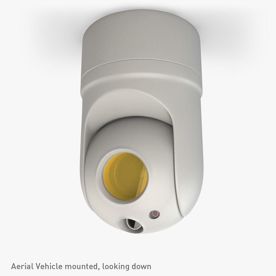 Caméra de surveillance 360 degrés royalty-free 3d model - Preview no. 2