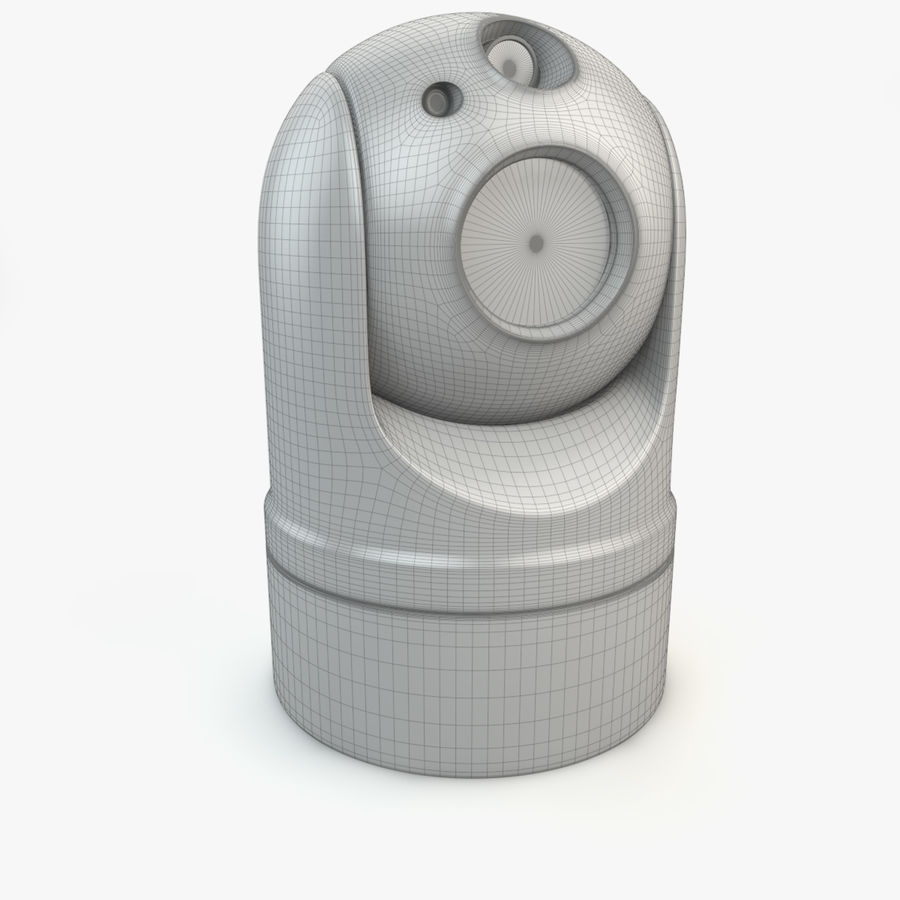 Caméra de surveillance 360 degrés royalty-free 3d model - Preview no. 13