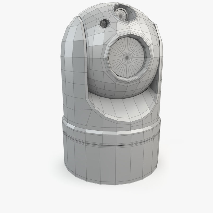 Caméra de surveillance 360 degrés royalty-free 3d model - Preview no. 12