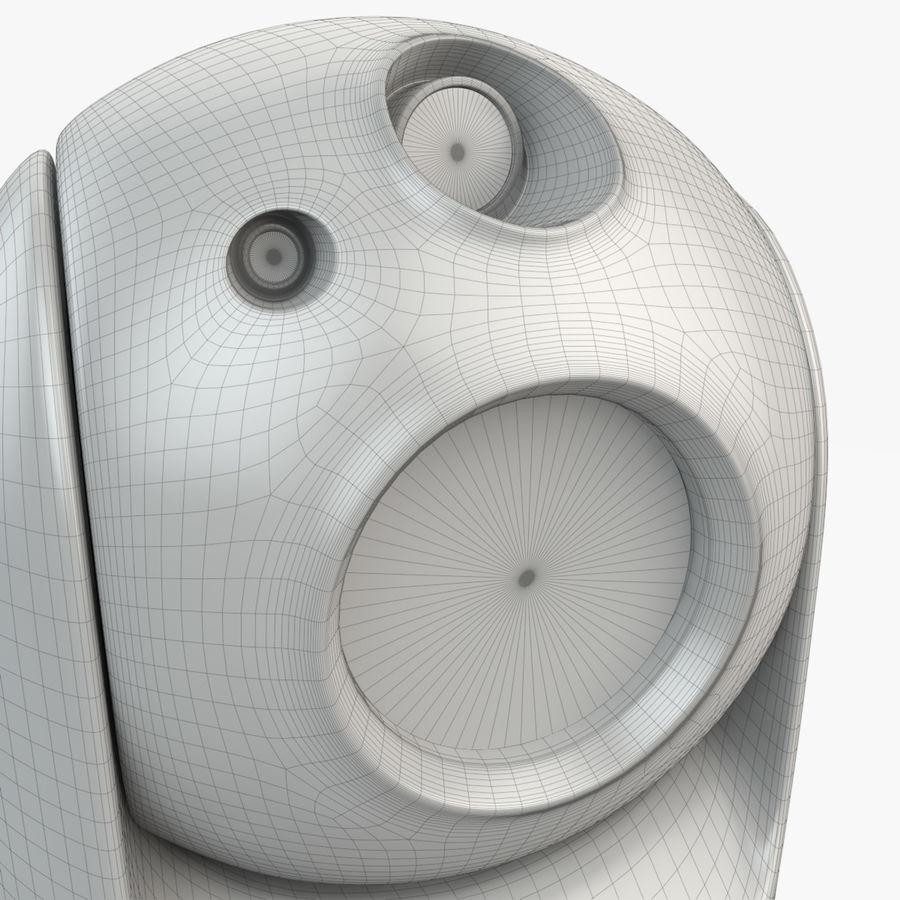 Caméra de surveillance 360 degrés royalty-free 3d model - Preview no. 17