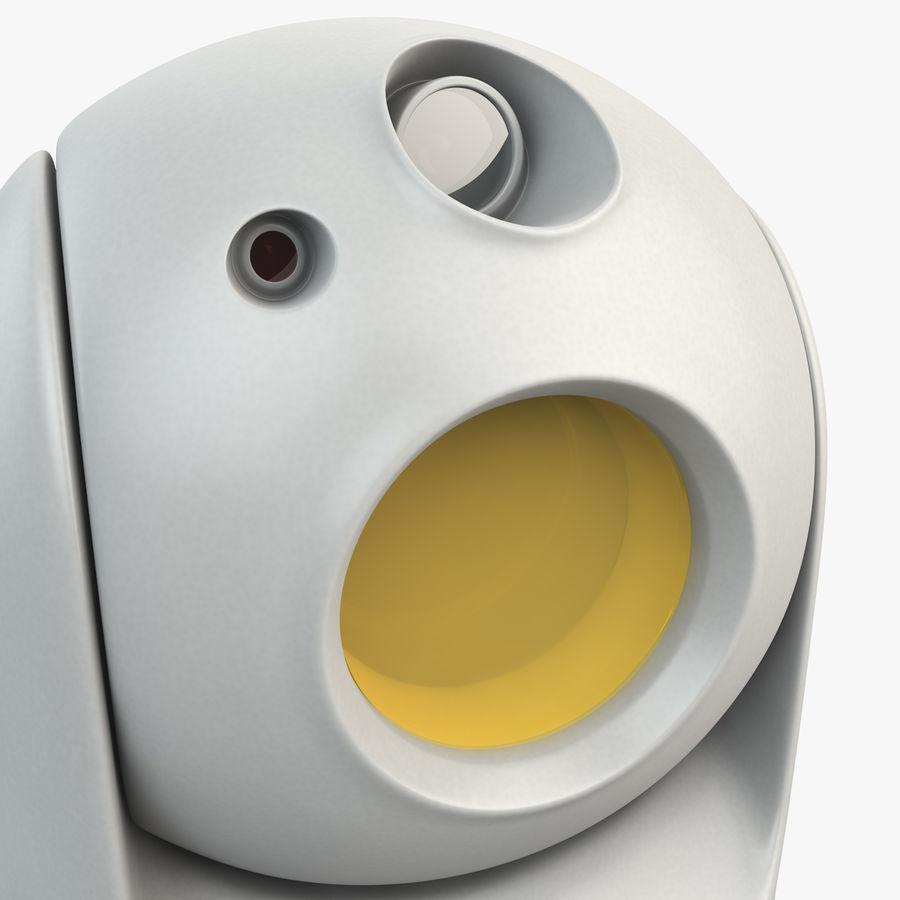 Caméra de surveillance 360 degrés royalty-free 3d model - Preview no. 5