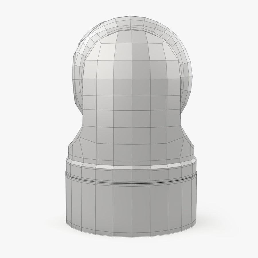 Caméra de surveillance 360 degrés royalty-free 3d model - Preview no. 14