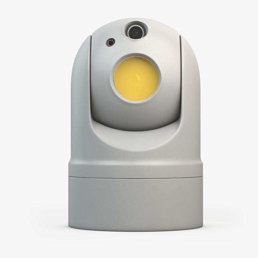 Caméra de surveillance 360 degrés royalty-free 3d model - Preview no. 4